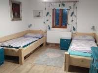 ložnice - pronájem chalupy Dolní Orlice