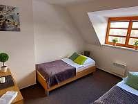Apartmán Harmonie - ložnice 2 - pronájem Říčky v Orlických horách