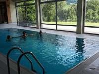 Wellness - vnitřní bazén - Říčky v Orlických horách