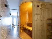 finská sauna pro 5 osob - pronájem chaty Červená Voda - Buková Hora