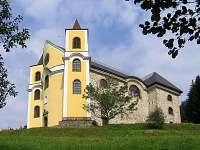 Kostel Neratov.... prosklená střecha