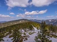 Chalupa Horní Orlice - okolní kopce -