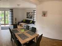Obývací pokoj + kuchyňský kout, Apartmán Mařinka 201 - pronájem Říčky v Orlických horách