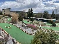 Okolí - adventure golf, Apartmán Mařinka 201 - Říčky v Orlických horách