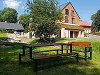 Zahrada, Apartmán Mařinka 201 - k pronájmu Říčky v Orlických horách