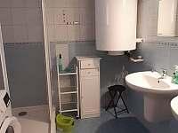 Dolní koupelna - chalupa k pronájmu Sudín