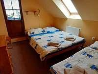 Pokoj v apartmánu č. 1 - pronájem chalupy Sudín