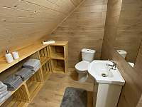 Koupelna 2 - chalupa k pronájmu Dolní Dobrouč