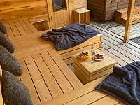 Relaxační zóna - chalupa ubytování Dolní Dobrouč