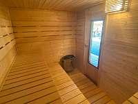 Sauna - chalupa k pronájmu Dolní Dobrouč