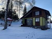 Chata v zimě - České Petrovice