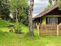 Posezeni s ohništěm - chata ubytování České Petrovice