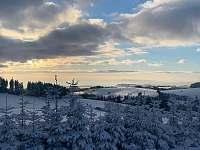 Výhledy v zimě - České Petrovice