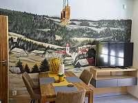 Apartmán 1kk, TV, WIFI, kompletně vybavená kuchyně. - ubytování Říčky v Orlických horách