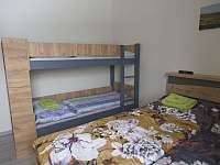 Apartmán 2+kk s ložnicí a pohodlnou manželskou postelí a palandou. - Říčky v Orlických horách