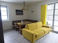 Apartmán 2+kk s pohodlnou rozkládací sedačkou. - k pronajmutí Říčky v Orlických horách