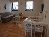 obývací pokoj - apartmán ubytování Deštné v Orlických horách