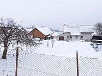 Pronájem chalupy v Sobkovicích