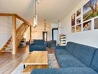 Interiér - apartmán ubytování Říčky v Orlických horách