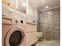 koupelna - apartmán k pronajmutí Říčky v Orlických horách