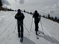 V zimě využijete kopce na skialpy, nebo splita. - apartmán k pronajmutí Velká Morava