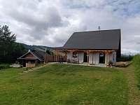 Ve spodní části pozemku máme malý zahradní domek, k osobnímu využívání. - Velká Morava