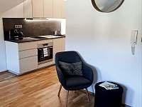 Kuchyňský kout 2kk apartmán - k pronájmu Deštné v Orlických horách