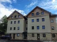 Obývací pokoj 2kk apartmán - ubytování Deštné v Orlických horách