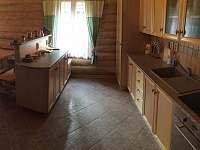 Kuchyň s veškerým vybavením - srub k pronajmutí Těchonín - Celné