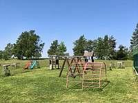 Dětské hřiště 250m od apartmánu - Jizbice u Náchoda