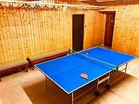 stolní tenis - ubytování Čenkovice