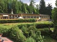 Občerstvení u hlavní budovy - chatky k pronájmu Klášterec nad Orlicí