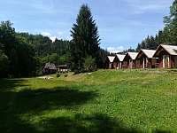 Ruská chata v pozadí - ubytování Klášterec nad Orlicí