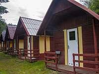 táborové chatičky - pronájem Klášterec nad Orlicí