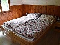 1. ložnice - chata k pronájmu Klášterec nad Orlicí - Zbudov