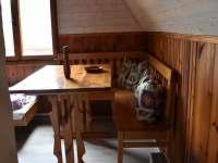 2. ložnice se stolem - chata k pronajmutí Klášterec nad Orlicí - Zbudov