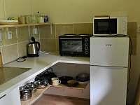 kuchyňka - chata k pronajmutí Klášterec nad Orlicí - Zbudov