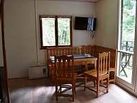 obývák - chata ubytování Klášterec nad Orlicí - Zbudov