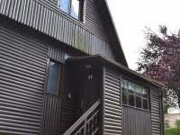 pohled na chatu - vstup - ubytování Klášterec nad Orlicí - Zbudov