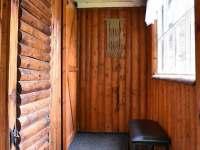 vstupní veranda - chata k pronájmu Klášterec nad Orlicí - Zbudov