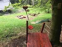 Lanovka 30m, pískoviště, klouzačka, houpačky, trampolína, pinpongový stůl - Zdobnice