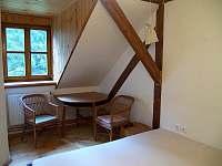 Ložnice II.B - manželská postel, sezení - Zdobnice