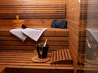 sauna - chalupa ubytování Červená Voda - Šanov