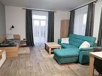 Obývací pokoj - apartmán ubytování Červená Voda