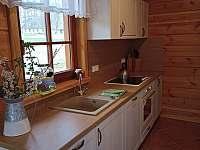 Kuchyňský kout - chalupa ubytování Orlické Záhoří