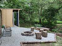 Chatka č. 3 - externí koupelna - k pronajmutí Olešnice v Orlických horách