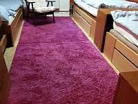 Velká ložnice tři postele.Prvni patro. - chata k pronájmu Olešnice v Orlických horách