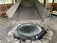 altán s ohništěm - Říčky v Orlických horách
