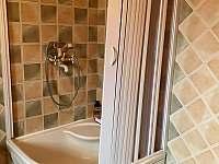 koupelna přízemí - chalupa k pronájmu Říčky v Orlických horách