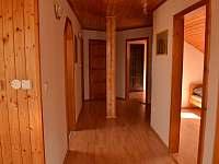 chodba - apartmán ubytování Horní Třešňovec